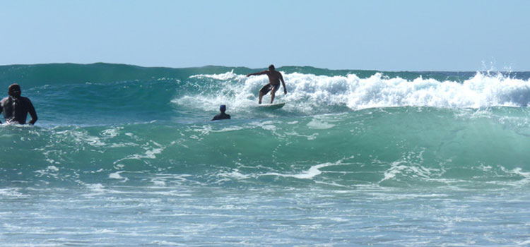 Surfing in Cerritos