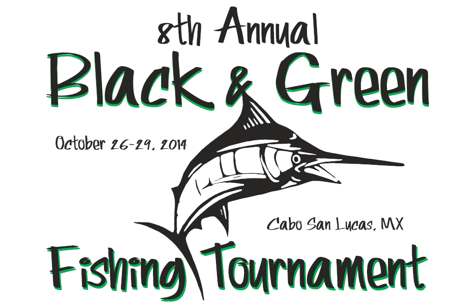 Black and Green Tournament Cabo