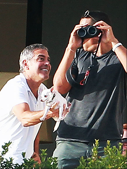 George Clooney in Cabo