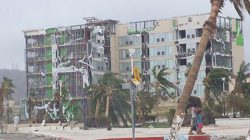 Hyatt Los Cabos After Hurricane Odile